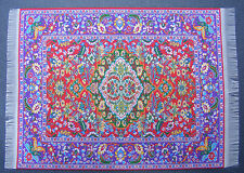 1:12 Scale 25cm x 17.5cm Woven Turkish Carpet Tumdee Dolls House Miniature P15L