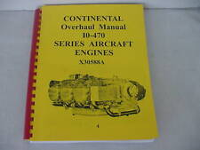CONTINENTAL ENGINES  I0-470 OVERHAUL MANUAL  -4