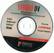 NEW Pinnacle Systems Studio DV Software Ver 1.25 Disc Only!