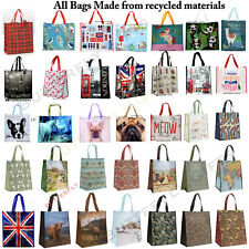 Large Reusable Shopping Bags Womens Ladies Gym Travel Tote Shoulder Bag