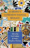 Europe's Constitutional Mosaic by Neil Walker, NEW Book, FREE & FAST Delivery, (