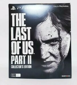 The Last Of Us Part 2 Collectors Edition AUS PAL Brand New & Sealed