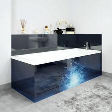 Bath Panels Printed on Acrylic - Deep Water Splash