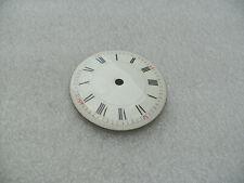 Antique Enamel 6cm Clock Dial