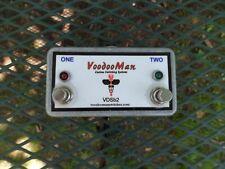 voodoo man amp switch pedal vsb2