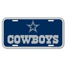 DALLAS COWBOYS TEAM LOGO CAR AUTO LICENSE PLATE TAG NFL FOOTBALL