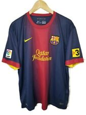 2012-2013 Nike Authentic FC Barcelona FCB Jersey Lionel Messi Home Size 2XL