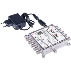 DUR-line DCS 551-24 - Einkabellösung Einkabel-Kaskade mit Quattro LNB Eingängen