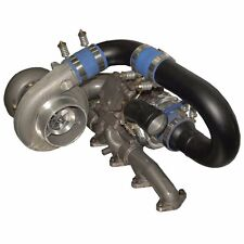 FITS 98.5-02 ONLY DODGE RAM CUMMINS DIESEL BD  RT1000 RACE TRACK TWIN TURBO KIT.