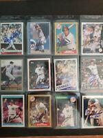 New York Yankees lot (12) autographed Baseball Cards Free Shipping!
