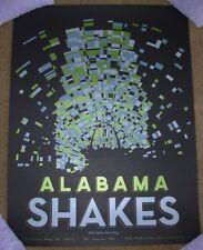 ALABAMA SHAKES concert gig poster ST LOUIS 5-28-15 2015 Tour