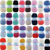 Patons 100% Cotton 4 Ply Yarn Knitting 100g Mercerized Cotton