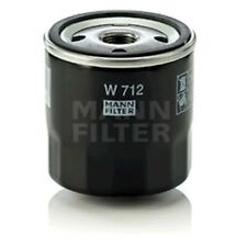 Mann W712 Oil Filter Spin On 79mm Height 76mm Outer Diameter Service Replacement