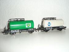 Fleischmann H0      - 5402 Kesselwagen BP + Aral  / 2 Stück -       X274X