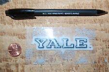 "Yale Bulldogs 3 1/4"" Lextra Patch 2000-Present Wordmark Logo College"