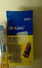 G & g ink catridge for canon-cyan color & free black 21ink for HP 4100 series