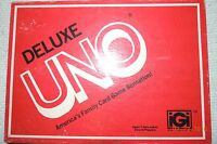 Vintage Deluxe UNO Card Game 1978 International Games 100% Complete