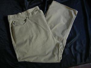 POLO Ralph Lauren Khaki Jean-Style NEW Pants 52B x 30 cotton w/3% stretch