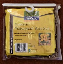 Gardeners Waterproof Rain Suit - Medium - Brand New in Orginal Packaging