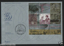 2016 FDC 300 YEARS OF POST SPAIN SECOND CENTURY EDIFIL 5054 SPD       TC20108