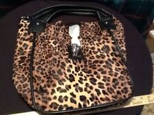 Penelope Ann Purse Leopard New In Box Animal Friendly Leather Home Interiors