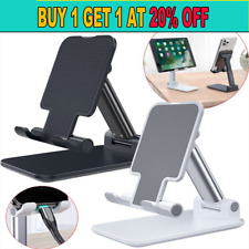 Portable Mobile Phone Stand Desktop Holder Table Desk Mount For iPhone iPad Tab