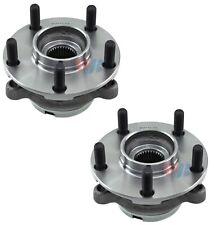 Pair Set of 2 Front WJB Wheel Bearing & Hub Kits for Infiniti QX60 Nissan Altima