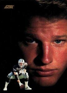 1991 Score Football Card #686 Don Mosebar LA Raiders