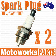 2 x L7T Spark Plug 47cc 49cc Mini PIT Pocket Scooter Quad Dirt Bike ATV Gokart 2
