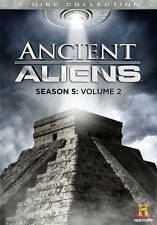 NEW GENUINE HISTORY DVD ANCIENT ALIENS SEASON 5 V2 2 DISC FREE FAST 1ST CLS S&H