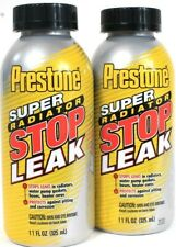 2ct Prestone 11 Oz Super Radiator Stop Leak Protects Against Pitting & Corrosion