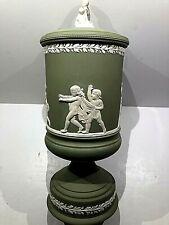 "Wedgwood Jasperware ""Blind Man's Bluff"" Prestige LTD Collection Urn #356/500 NEW"