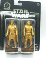 Star Wars Commemorative Edition Gold Obi-Wan Kenobi & Anakin Skywalker.