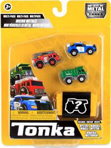 New Tonka Micro Metal Construction and Service Vehicles Set 2