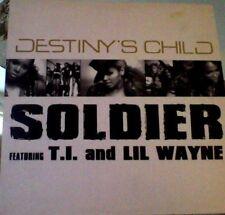 "Destiny's Child soldier vinyl 12"""