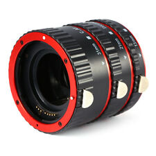 Auto Focus AF Macro Extension Tube Set Ring Adapter For Canon EF EFS Lens