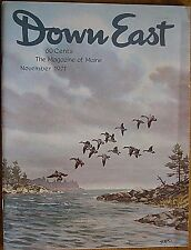 DOWN EAST MAGAZINE~NOVEMBER 1971