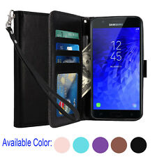 For Samsung Galaxy Express Prime 3 / J3 Orbit /J3 Star Leather Wallet Case Cover