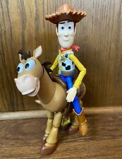 "Woody & Bullseye Toy Story 4 Poseable 7"" Action Figures Lot Adventure Pack Set"