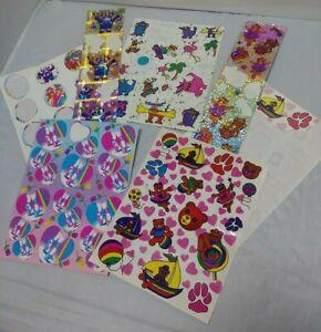 Vintage 80's Lisa Frank Stickers Lot