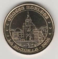 A 2008 TOKEN MEDAILLE MONNAIE DE PARIS -- 17 000 N°7 LA ROCHELLE GROSSE HORLOGE