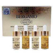 [BERGAMO] Premium Luxury Gold Collagen Caviar Ampoule Set 13ml x 4ea Anti-Aging