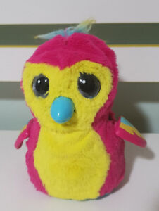 HATCHIMAL PINK AND YELLOW PENGUIN ALREADY HATCHED FINE WORKING ORDER!