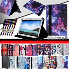 """For Various 7"""" 8"""" 10"""" Samsung Galaxy Tablet -Smart Stand Leather Cover Case +pen"""