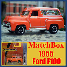 Matchbox 1955 Ford F100 Panel Van SECRET HIDDEN DOG and veggies inside MOC MINT