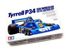 Tamiya Automotive Model 1/20 Car Tyrrell P34 Six Wheeler Scale Hobby 20058