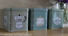 Martin Wiscombe Vintage Style Set of 3 tins - The Specialist Range Great Gift