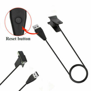 For Fitbit Ace Kids Activity Tracker Black USB Charger Cable w/ Reset Button SAT