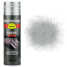 x 12 Rust-Oleum galva Plus Argent 2120 galvanisé réparation Peinture aérosol