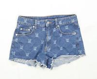 Womens H&M Blue Denim Shorts Size 12/